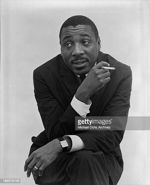 Comedian Dick Gregory poses for a portrait in crica 1963