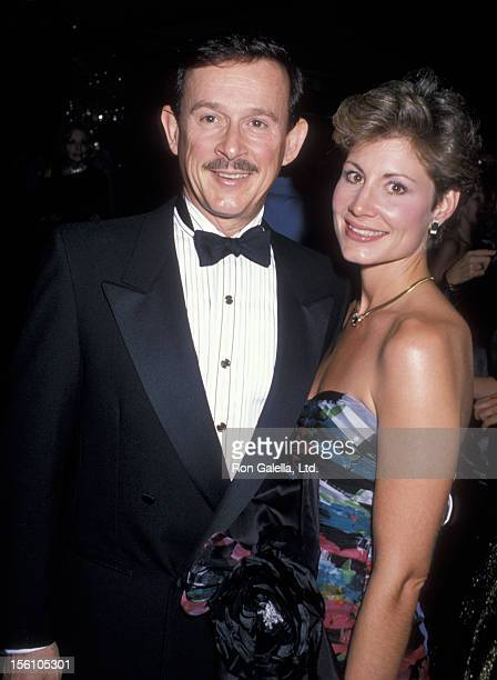 Comedian Dick Smothers and wife Lorraine Martin attending 33rd Annual Thalians Ball on October 8 1988 at the Century Plaza Hotel in Century City...