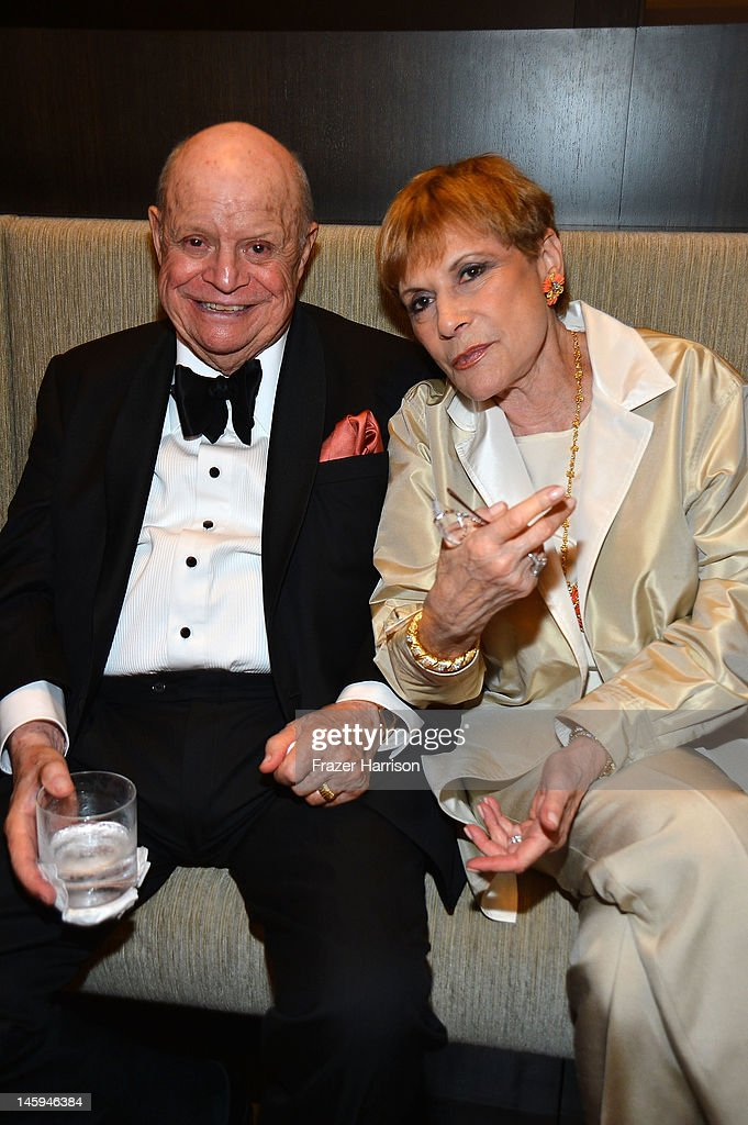 Comedian Don Rickles and Barbara Rickles attend the after party for the 40th AFI Life Achievement Award honoring Shirley MacLaine held at Sony Pictures Studios on June 7, 2012 in Culver City, California. The AFI Life Achievement Award tribute to Shirley MacLaine will premiere on TV Land on Saturday, June 24 at 9PM