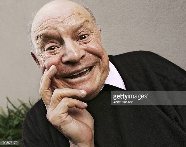 Comedian Don Rickles is photographed in Beverly Hills CA on November 6 2007 for the Los Angeles Times CREDIT MUST READ Anne Cusack/ Los Angeles...