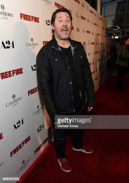 Comedian Doug Benson attends The Los Angeles Premiere Of 'Free Fire' Presented By Casa Noble Tequila on April 13 2017 in Los Angeles California