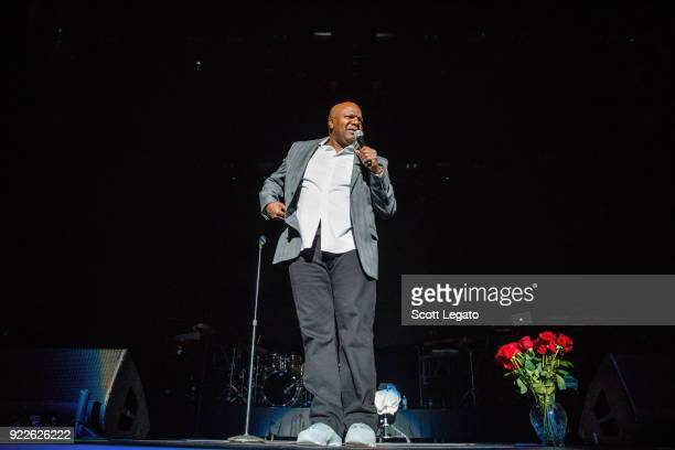 Comedian Earthquake performs at Little Caesars Arena on February 21 2018 in Detroit Michigan