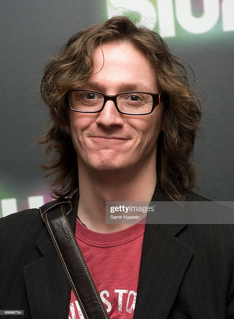 Comedian Ed Byrne arrives at the Blur video game launch party at Sound on May 19, 2010 in London, England.