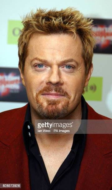 Comedian Eddie Izzard during for the British Comedy Awards 2002 at London Weekend Television Studios in London The annual awards ceremony hosted by...