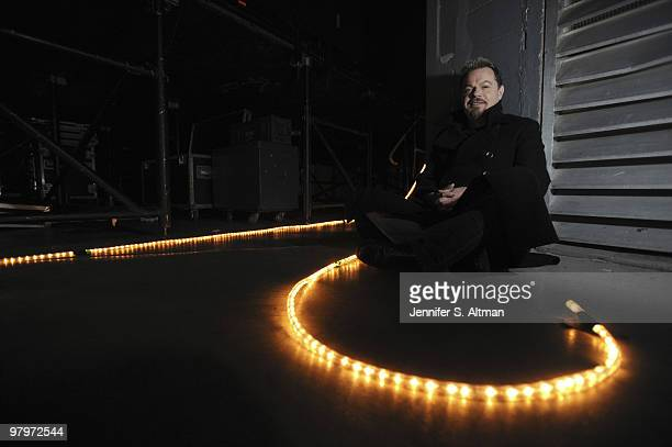Comedian Eddie Izzard is photographed in New York for the Los Angeles Times