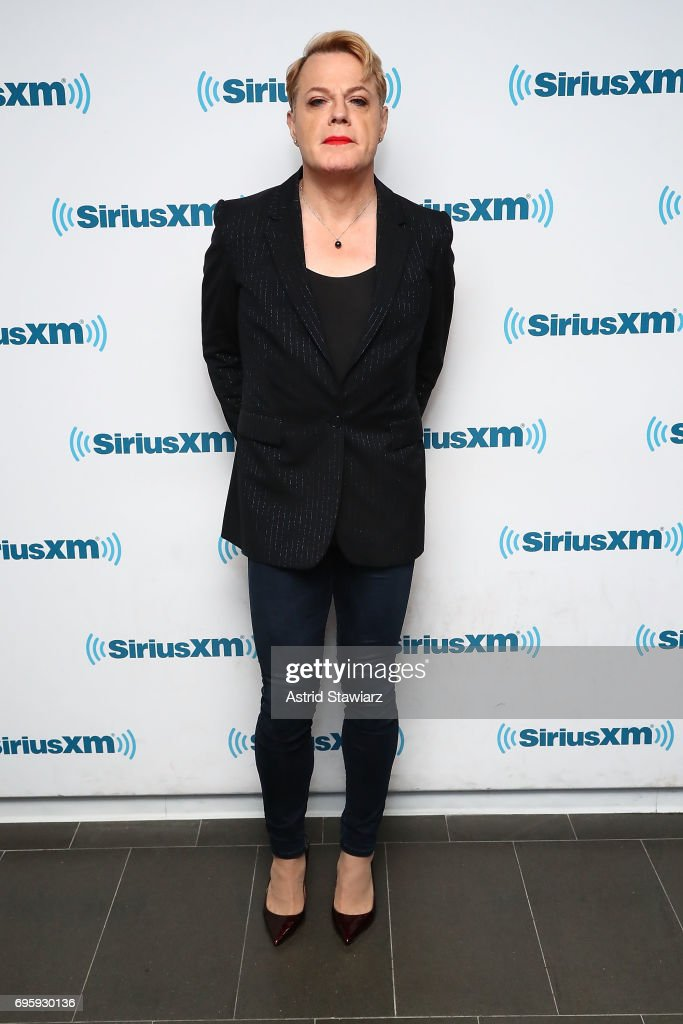 """Comedian Eddie Izard Talks About his New Book During a SiriusXM """"Town Hall"""" Event in New York With Host Ron Bennington"""