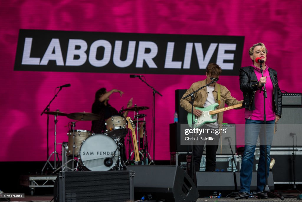 The Labour Party Holds A Festival Of Arts, Politics and Music