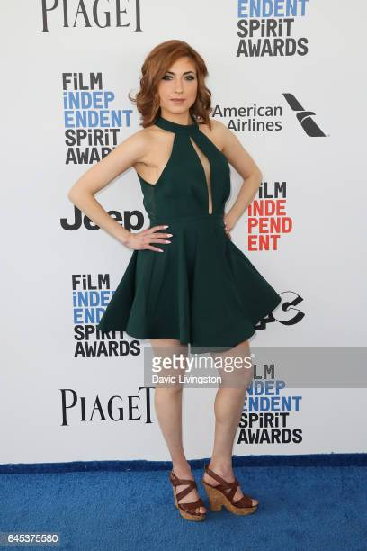 Comedian Eden Dranger attends the 2017 Film Independent Spirit Awards on February 25 2017 in Santa Monica California