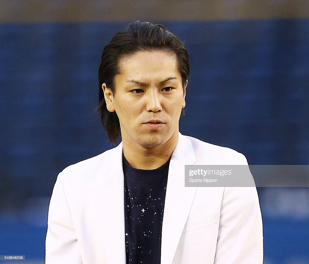 Eiko Kano Attends Baseball Game In Chiba : News Photo