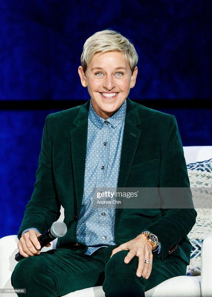 A Conversation With Ellen DeGeneres : News Photo