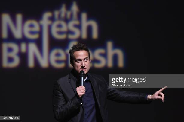 Comedian Elon Gold attends 9th Annual NBN Israel Mega Event at John Jay College on February 26 2017 in New York City