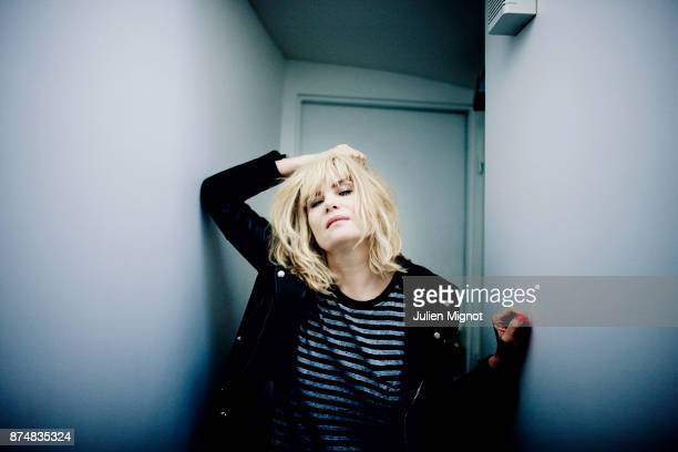 Comedian Emmanuelle Seigner is photographed for Eurostar Magazine on February 2014 in Paris France