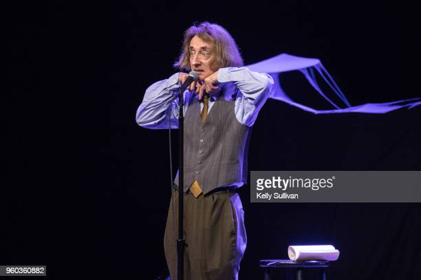 Comedian Emo Philips performs onstage at the Fox Theater during Weird Al Yankovic's Ridiculously SelfIndulgent IllAdvised Vanity Tour on May 19 2018...