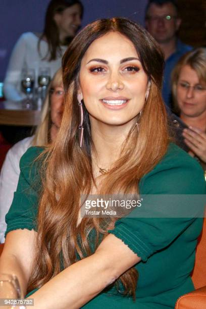 Comedian Enissa Amani during the NDR Talk Show on April 6, 2018 in Hamburg, Germany.