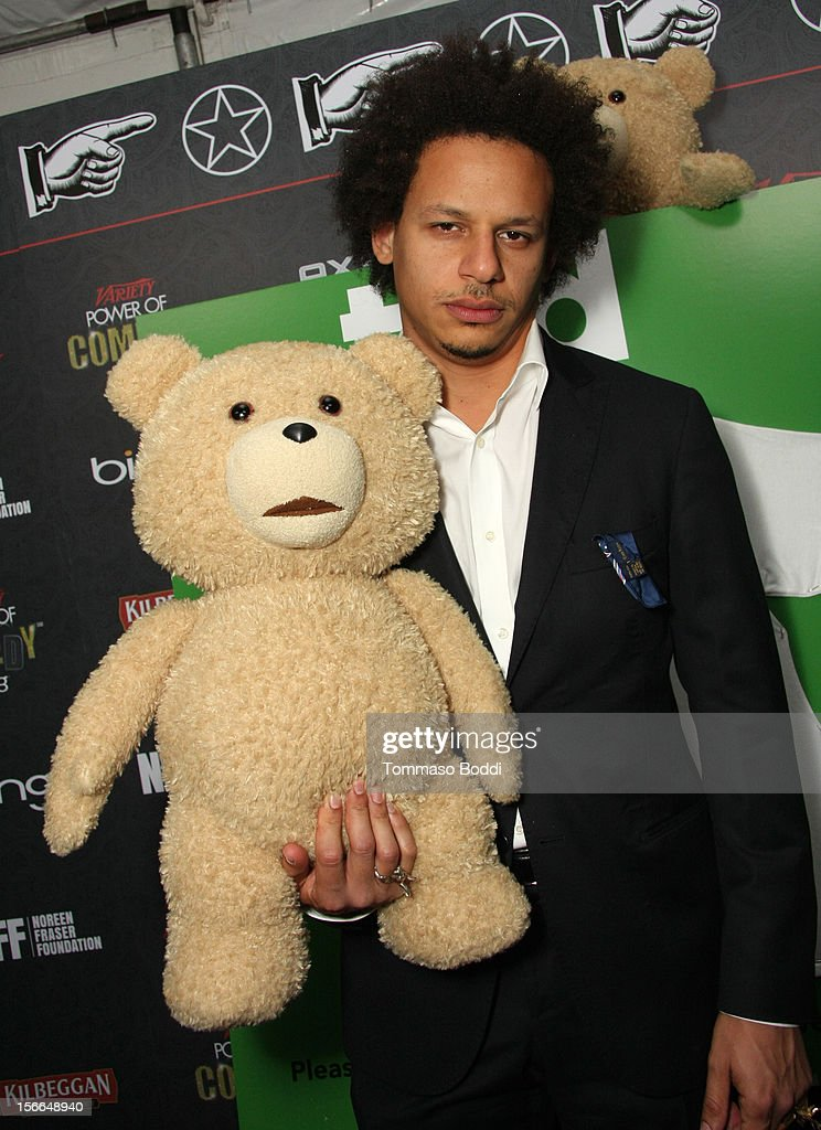 Comedian Eric Andre arrives at Variety's 3rd annual Power of Comedy event presented by Bing benefiting the Noreen Fraser Foundation held at Avalon on November 17, 2012 in Hollywood, California. The Ted Blu-ray and DVD will be released on December 11, 2012.