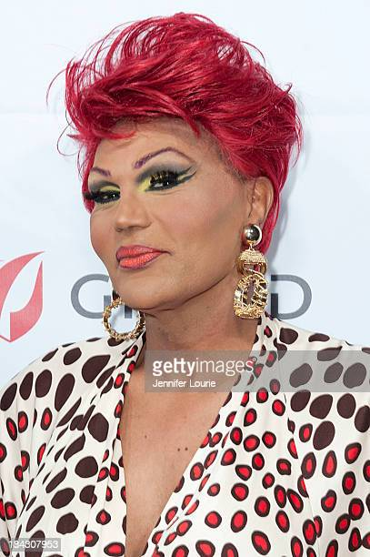 Comedian Flame Monroe attends the 23rd Annual HIV/AIDS benefit concert DIVAS Simply Singing at Club Nokia on October 12 2013 in Los Angeles California