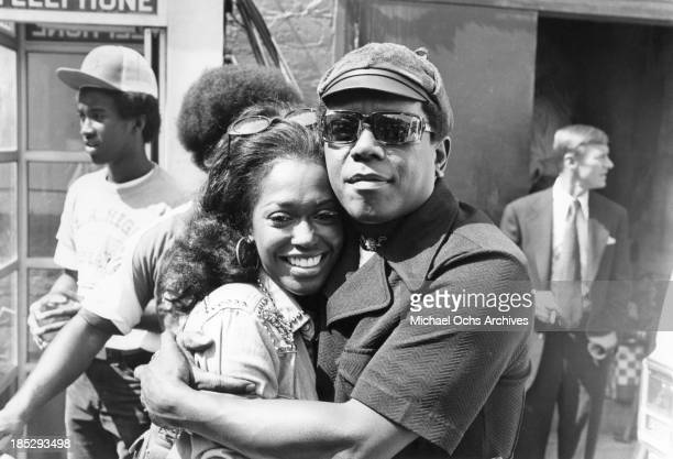 Comedian Flip Wilson and his girlfriend Rosylin Taylor attend an event in circa 1975 in Los Angeles California She would later sue him for palimony