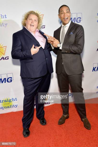 Comedian Fortune Feimster and Media Presenter, journalist Don Lemon attend the ninth annual PFLAG National Straight for Equality Awards Gala on March...