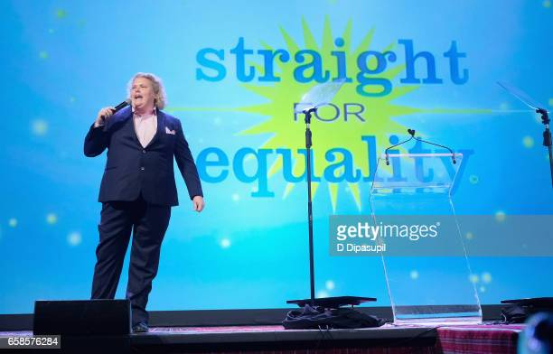 Comedian Fortune Feimster speaks on stage during the ninth annual PFLAG National Straight for Equality Awards Gala on March 27, 2017 in New York City.