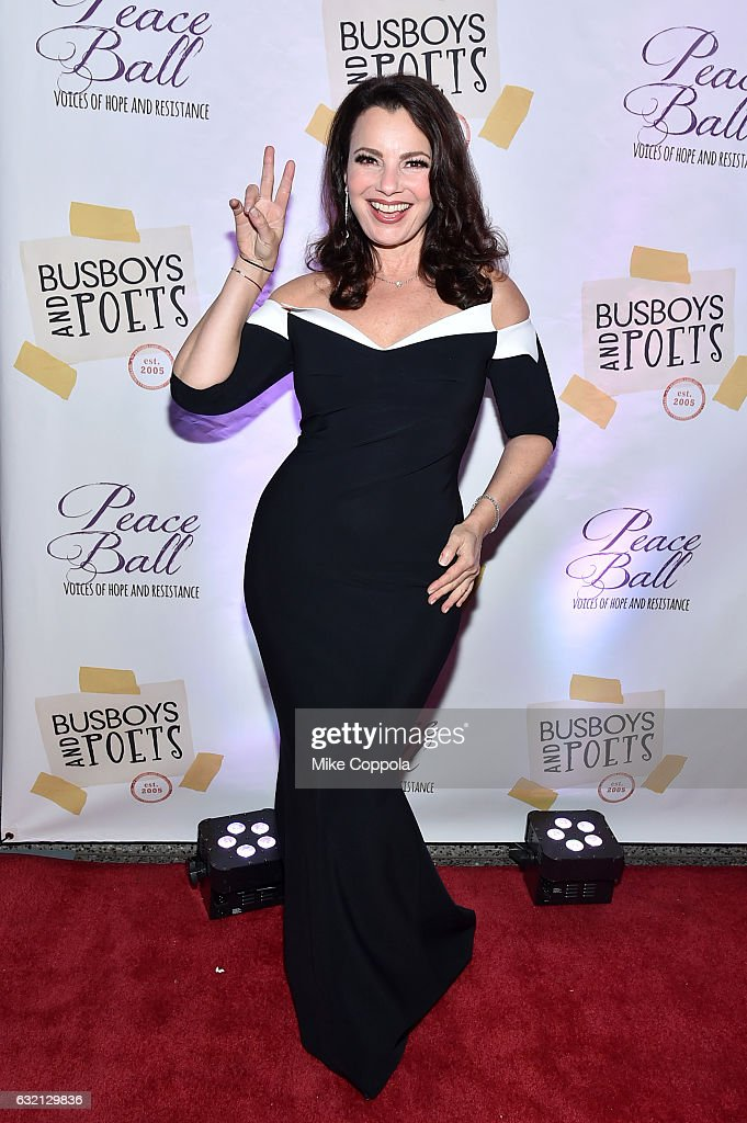Comedian Fran Drescher attends the Busboys and Poets' Peace Ball: Voices of Hope and Resistance at National Museum Of African American History & Culture on January 19, 2017 in Washington, DC.