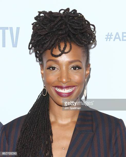 Comedian Franchesca Ramsey attends the ABC Tuesday Night Block Party event at Crosby Street Hotel on September 23, 2017 in New York City.