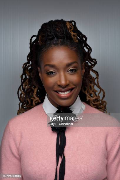"""Comedian Franchesca Ramsey from """"Franchesca"""" is photographed for Los Angeles Times on January 22, 2018 in the L.A. Times Studio at Chase Sapphire on..."""