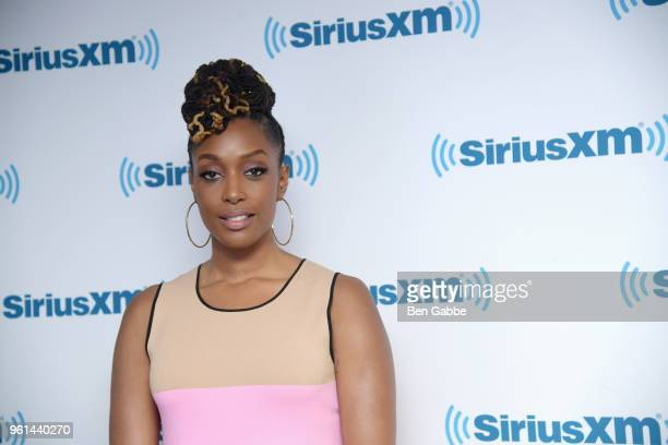 Comedian Franchesca Ramsey visits at SiriusXM Studios on May 22, 2018 in New York City.