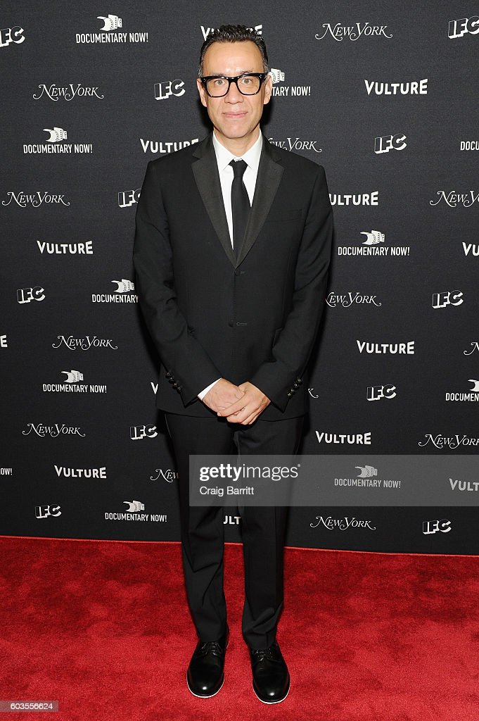 Comedian Fred Armisen attends as IFC, New York Magazine and Vulture host the premiere of 'Documentary Now' at the New Museum on September 12, 2016 in New York City.