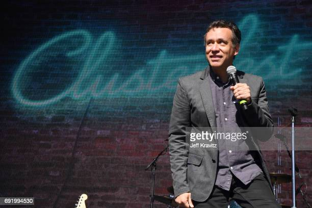 Comedian Fred Armisen performs onstage at the Colossal Stage during Colossal Clusterfest at Civic Center Plaza and The Bill Graham Civic Auditorium...