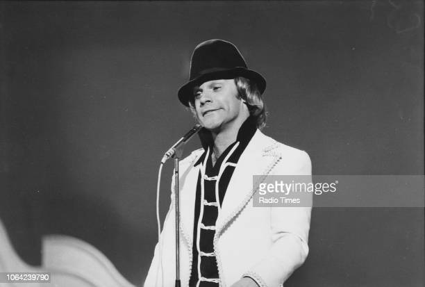 Comedian Freddie Starr performing on stage January 27th 1976
