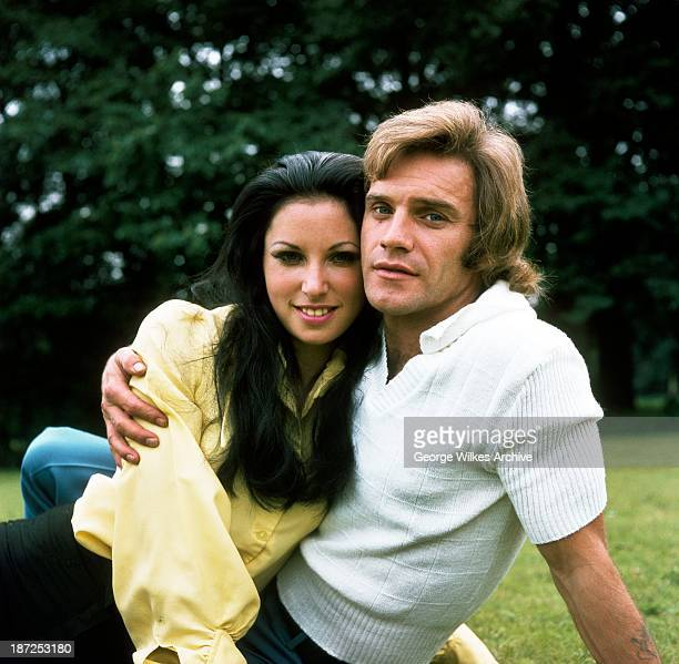 Comedian Freddie Starr photograhed at home with his second wife Sandy who he married at the height of his fame The couple had three children together