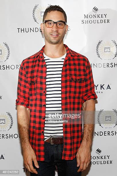 Comedian Gabe Delahaye attends the Thundershorts launch event at The Box on June 25 2014 in New York City
