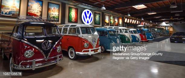 Comedian Gabriel ÒFluffyÓ Iglesias' has a classic VW bus collection at his compound in Signal Hill California on Monday Dec 18 2017
