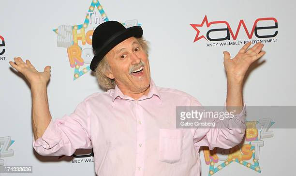Comedian Gallagher arrives at the Showbiz Roast of Oscar Goodman at the Stratosphere Casino Hotel on July 23 2013 in Las Vegas Nevada