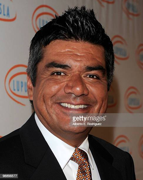 Comedian George Lopez arrives at the 10th Annual Lupus LA Orange Ball on May 6 2010 in Beverly Hills California