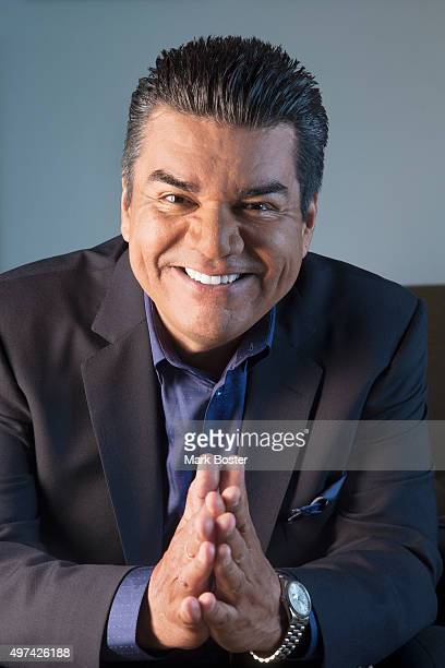Comedian George Lopez is photographed for Los Angeles Times on February 19 2014 in Los Angeles California PUBLISHED IMAGE CREDIT MUST READ Mark...