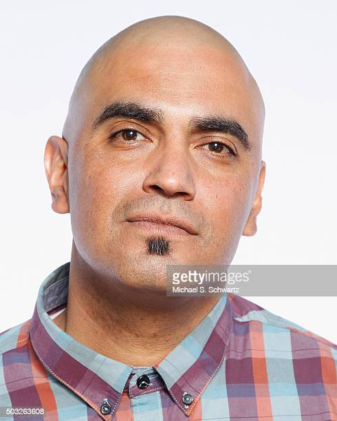 Comedian George Perez poses after his performance at The Ice House Comedy Club on January 2 2016 in Pasadena California