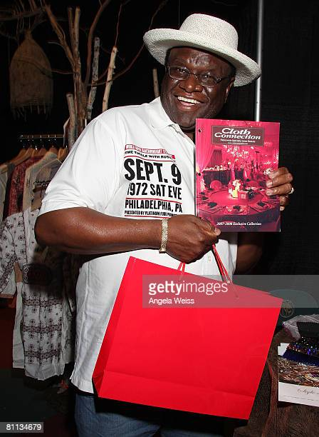 Comedian George Wallace attends the Backstage Creations celebrity retreat held during the 43rd Academy of Country Music Awards at the MGM Grand...