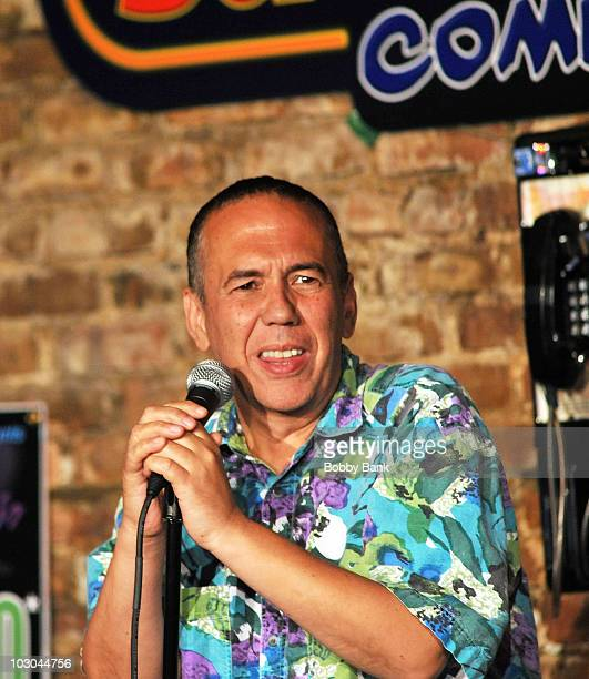 Comedian Gilbert Gottfried headlines at The Stress Factory Comedy Club on July 22 2010 in New Brunswick New Jersey