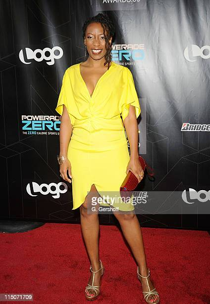 Comedian Gloria Bigelow attends the 2nd Annual Logo NewNowNext Awards at the Hiro Ballroom at The Maritime Hotel on May 20 2009 in New York City