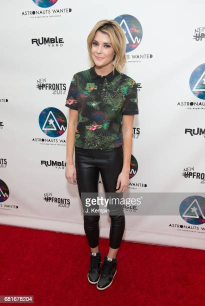 Comedian Grace Helbig attends the Astronauts Wanted And Rumble Yard Joint 2017 New Front Presentation at Sony Music Headquarters on May 10 2017 in...