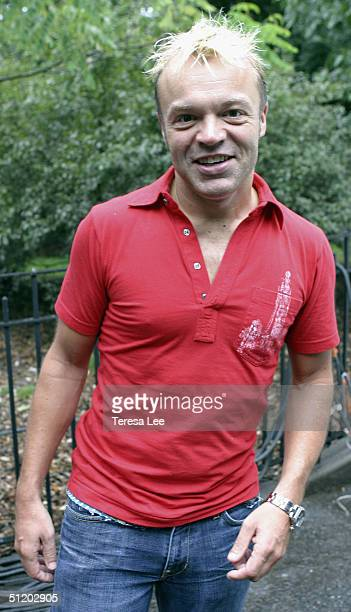 Comedian Graham Norton attends Wigstock 2004 August 21, 2004 at Tompkins Square Park, in New York City.