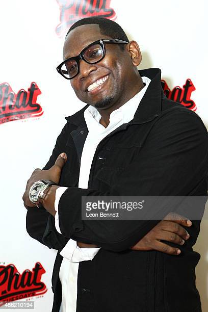 Comedian Guy Torry attends the 20th Anniversary Of Phat Tuesdays at Club Nokia on September 1 2015 in Los Angeles California