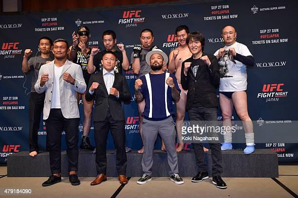 Comedian Habu and Razor Ramon HG and FUJIWARA Haranishi and Razor Ramon RG and Tonikaku Akarui Yasumura and Masashi Kumada Kiichi Kunimoto and Kyoji...