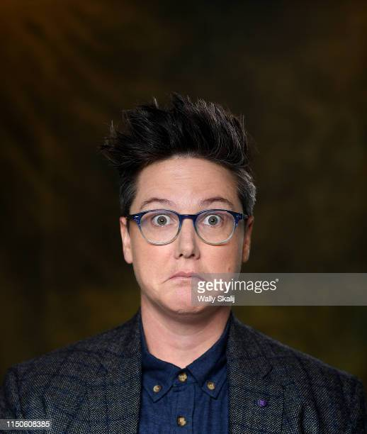 Comedian Hannah Gadsby is photographed for Los Angeles Times on April 23 2019 in Los Angeles California PUBLISHED IMAGE CREDIT MUST READ Wally...