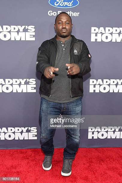 Comedian Hannibal Buress attends the Daddy's Home New York premiere at AMC Lincoln Square Theater on December 13 2015 in New York City