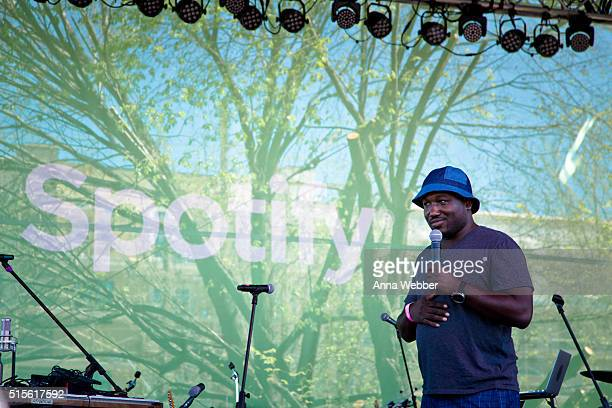 Comedian Hannibal Buress hosts the Spotify House SXSW 2016 on March 14 2016 in Austin Texas