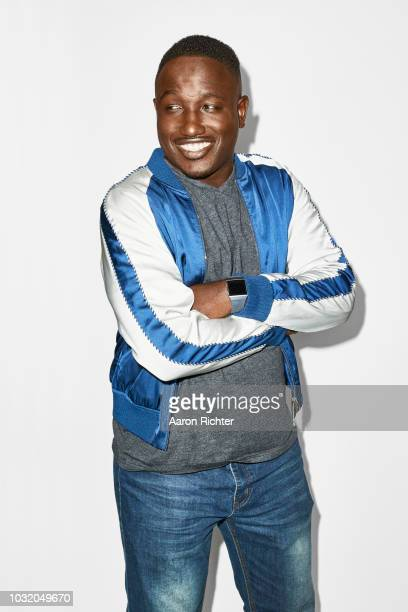 Comedian Hannibal Buress is photographed for New York Times on July 1 2018 at SIXTY LES in New York City