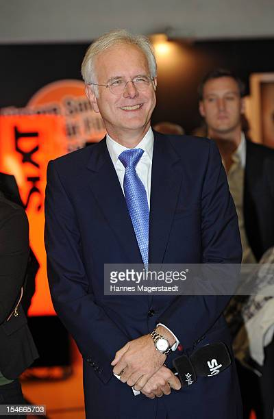 Comedian Harald Schmidt attends the Media Days at the ICM on October 24, 2012 in Munich, Germany.