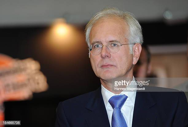 Comedian Harald Schmidt attends the Media Days at the ICM on October 24 2012 in Munich Germany